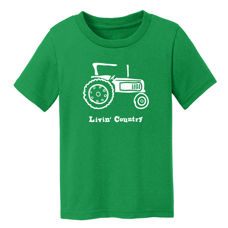 Toddler Livin' Country Tractor T-shirt