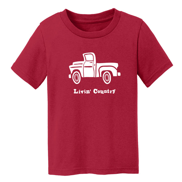 Toddler Livin' Country Truck T-shirt
