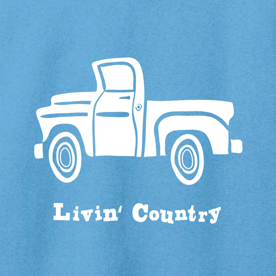Women's Livin' Country Truck T-shirt