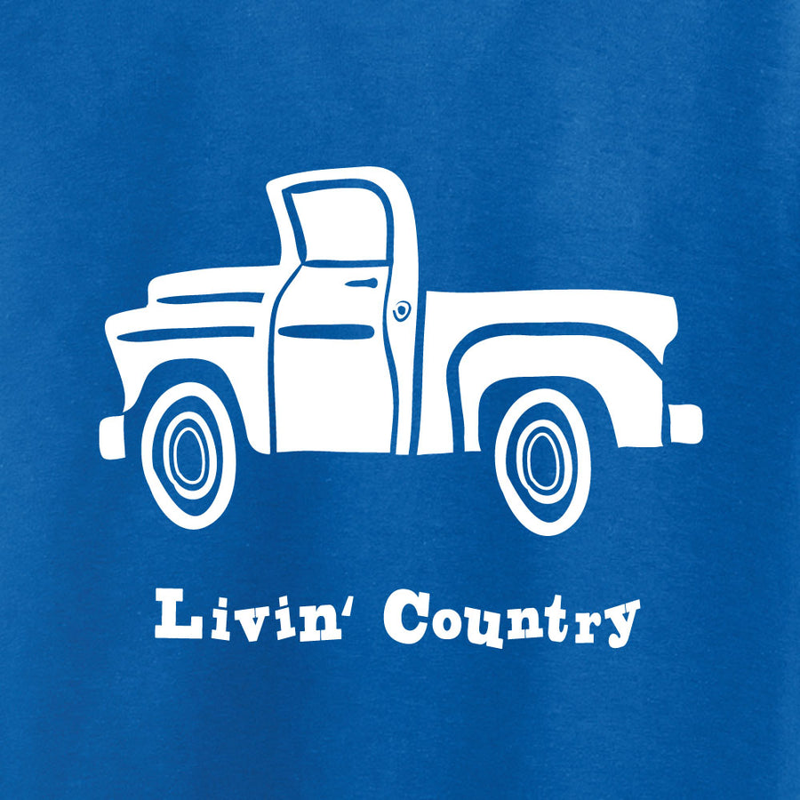 Kid's Livin' Country Truck T-shirt