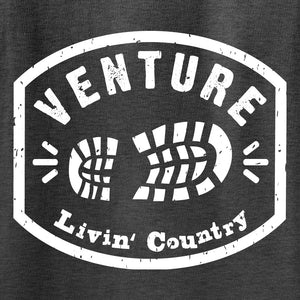 Adult Livin' Country Venture Boot Hoodie