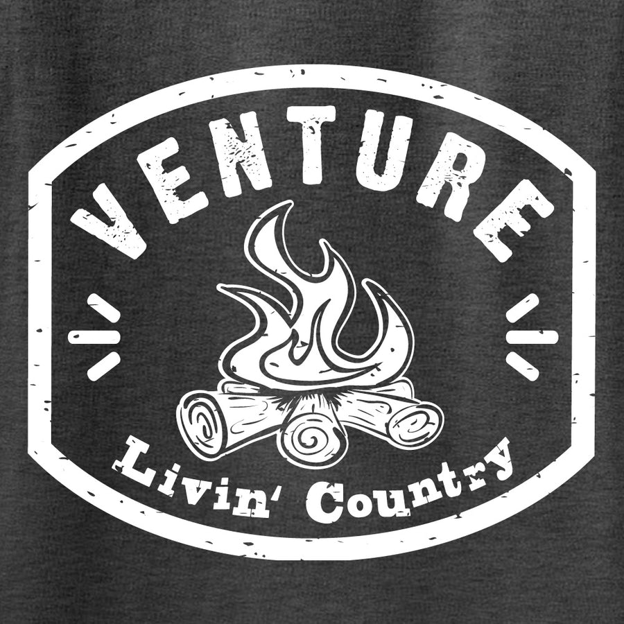 Kid's Livin' Country Venture Campfire T-shirt