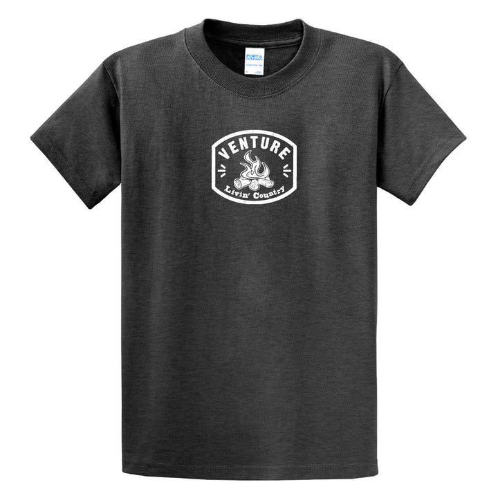Adult Livin' Country Venture Campfire T-shirt