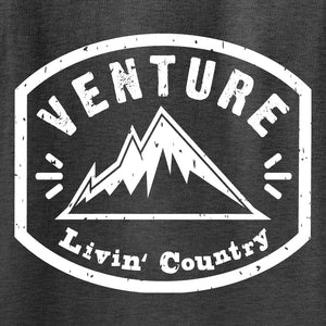 Adult Livin' Country Venture Mountain T-shirt