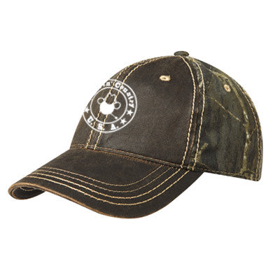 Livin' Country Logo Vintage Camouflage Cap