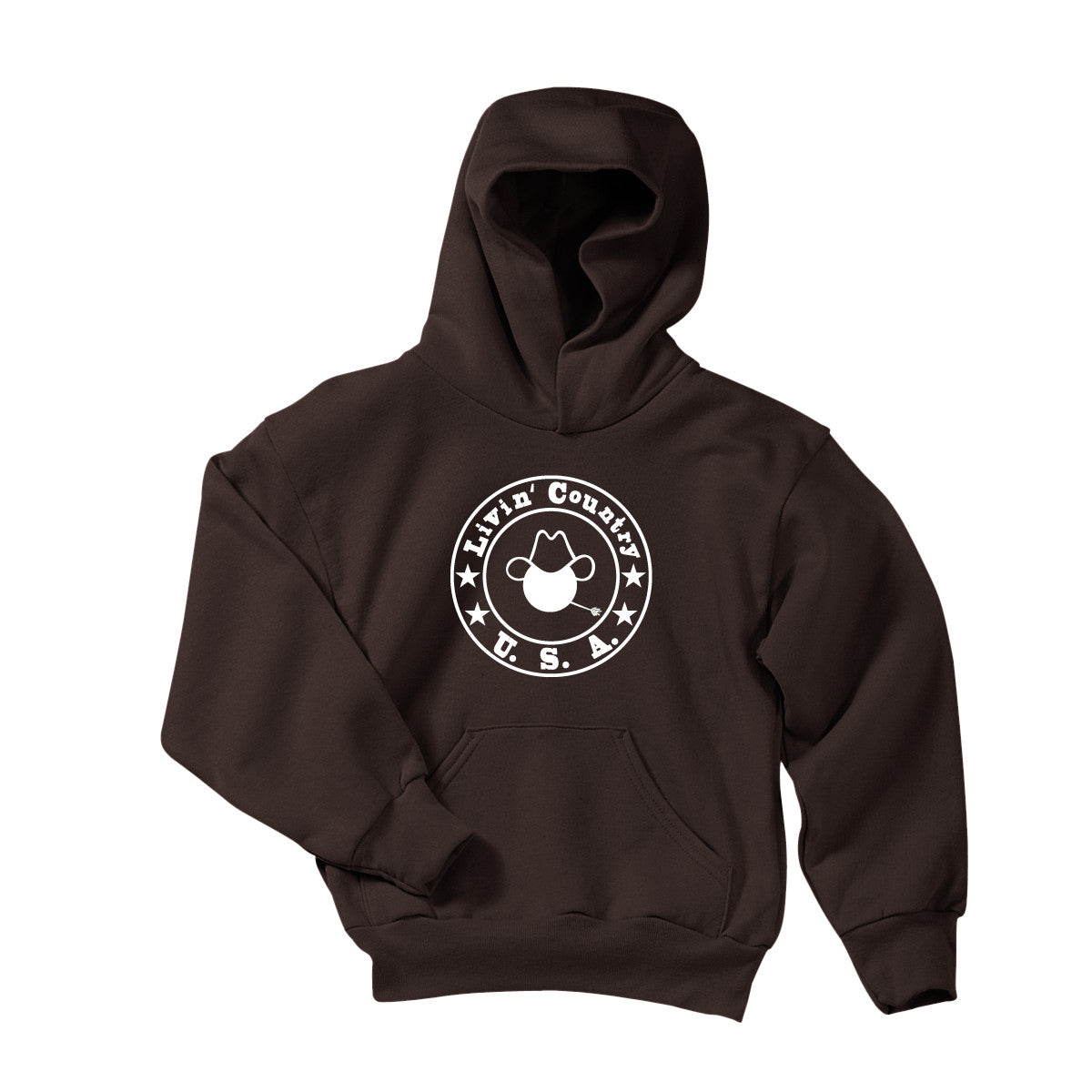 Youth Livin' Country Logo Hoodie - Livin' Country Apparel & Accessories  - 1