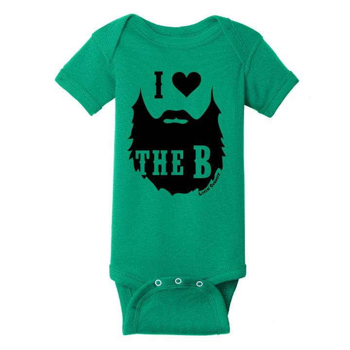 Infant Livin' Country 'I Heart the Beard' Onesie
