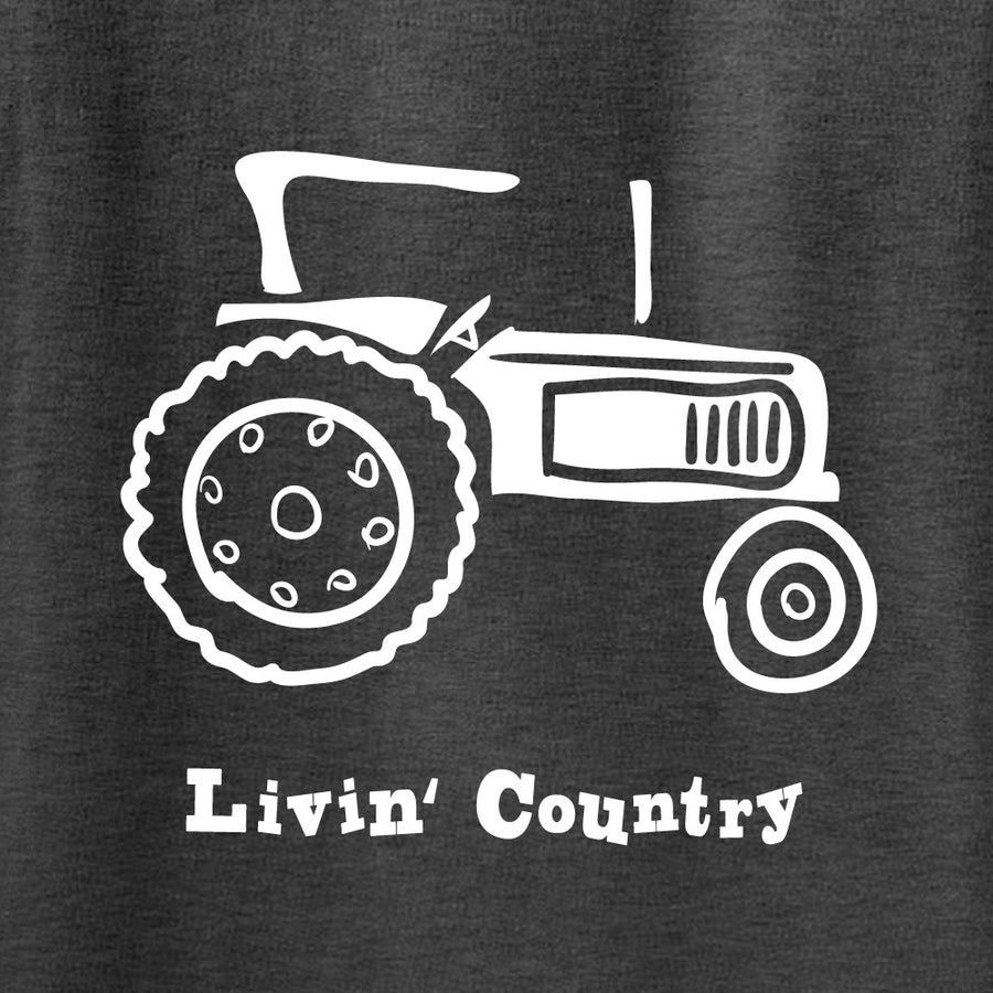 Adult Livin' Country Tractor Hoodie