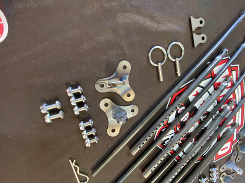 4PC ADJUSTABLE STRUT KIT
