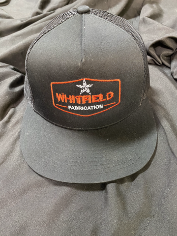 WHITFIELD BLK/ORNG SNAPBACK HAT