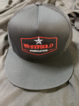 WHITFIELD BLK/RED SNAPBACK HAT