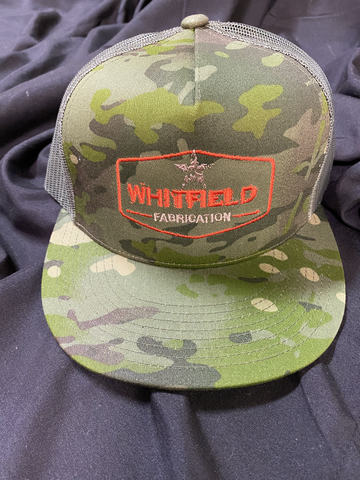 WHITFIELD CAMO SNAPBACK HAT
