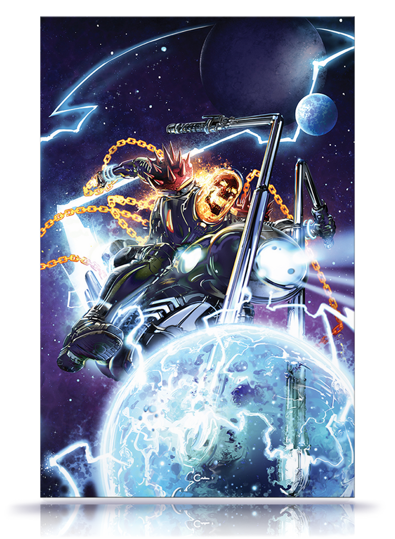 Revenge of Cosmic Ghost Rider #1   Virgin Cover