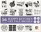 Happy Kitchen SVG Bundle