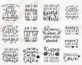 Welcome Baby Quote SVG Bundle