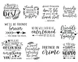 Friendship Quote SVG Bundle