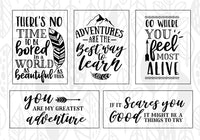 Adventure Quote SVG Bundle