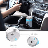 Ambrosial 300ml Essential Oil Aroma Diffuser Ultrasonic Humidifier USB 5V Mist Maker for Car & Home