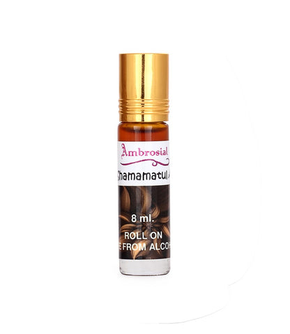 Ambrosial 8ml Shamamatul Amber Pure & Natural Indian Attar Perfume Concentrate Oil