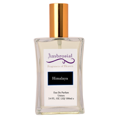 Ambrosial Himalaya 100ml 3.4oz Eau De Parfum for Men and Women
