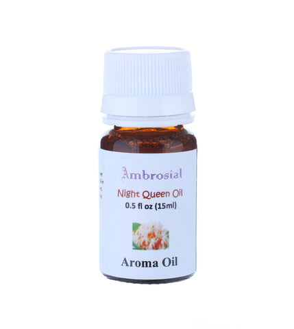 Ambrosial 15ml Night Queen Aroma Perfume Oil for Diffuser & Aromatherapy