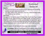 Ambrosial Kumkumadi Tailam Oil Natural Uncut Undiluted 15ml