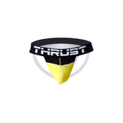 Thrust Sport Mesh Jockstrap Yellow