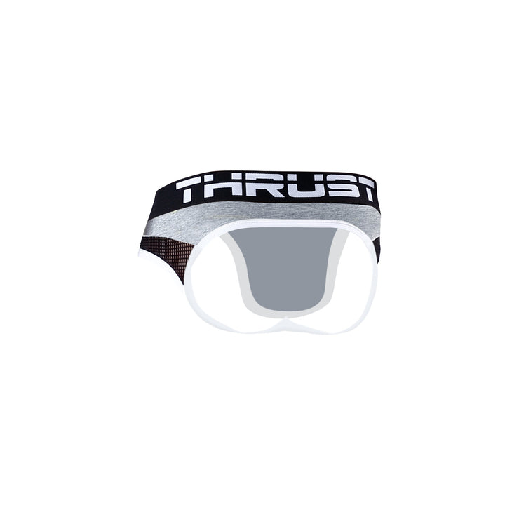 Thrust Sport Mesh Jock Brief Grey