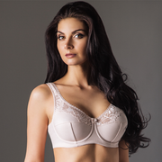 Full Figure Unlined Bra Rosme Galla Beige