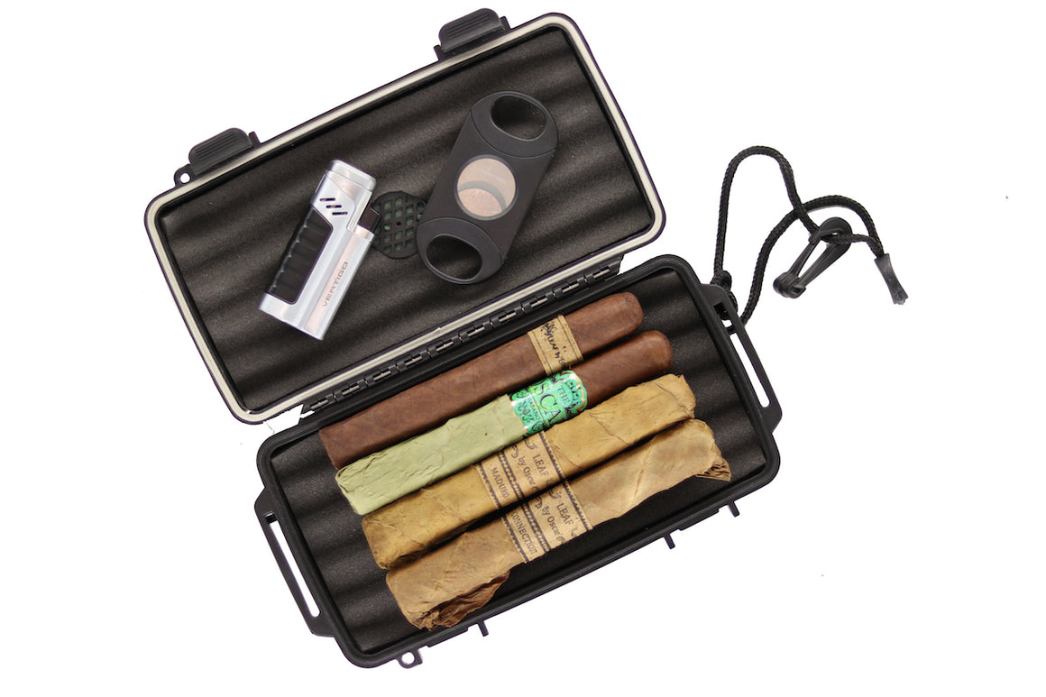 Amigo Box - Leaf with FREE Humidor, Lighter, Cutter