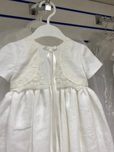 Load image into Gallery viewer, Christening Robe By Laura D Design   Style 26 Linen Style