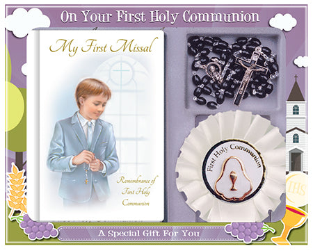 Communion Boy Gift Set