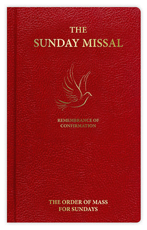 Confirmation Sunday Missal Red