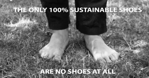 shoes made from trash
