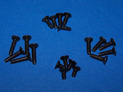 KYOSHO FLAT HEAD SCREW (M2 6X6, 8, 10, 12) (20 PCS) #KYO1147