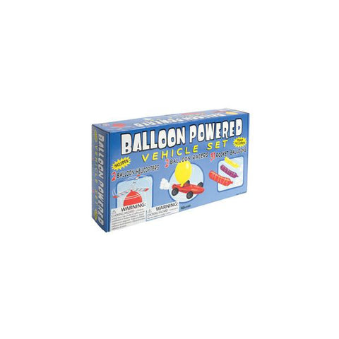 Balloon Powered vehicle set (2685)