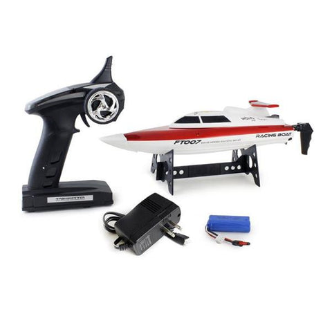 FT007 4-Channel 2.4G High Speed Racing RC Boat (61143)