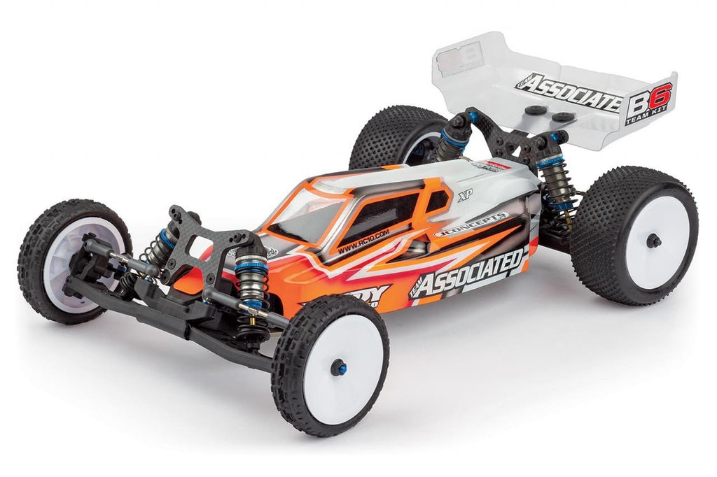RC10B6 1:10 Scale 2WD Mid Motor Electric Off Road Buggy Kit ...