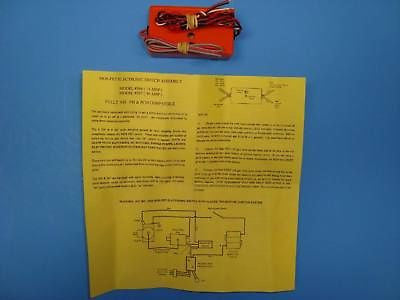 MCDANIEL MOS-FET ELECTRIC SWITCH ASSEMBLY ONLY #566