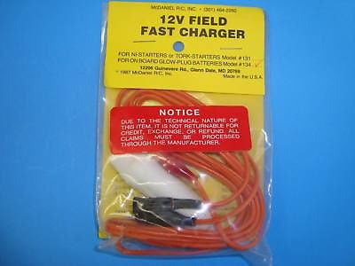 MCDANIEL 12V FIELD FAST CHARGE FOR ON BOARD #134