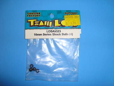 TEAM LOSI 10MM SERIES SHOCK BALLS (4) #A-5323