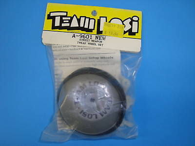 TEAM LOSI STREET WEAPON TWEAK WHEEL SET #A-9601