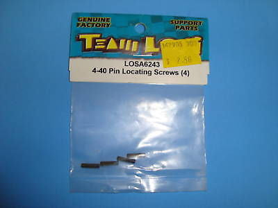 TEAM LOSI 4-40 PIN LOCATING SCREWS (4) #A-6243