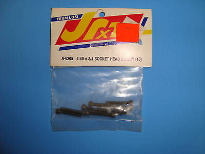 TEAM LOSI 4-40X3/4 SOCKET HEAD SCREWS (10 PCS.) #A-6205
