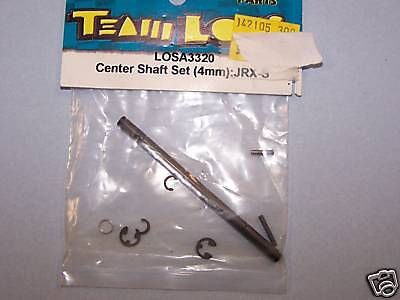 TEAM LOSI CENTER SHAFT SET JRX-S LOSA3320