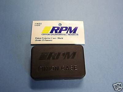 RPM PINION PROTECTOR CASE (BLACK) #80412