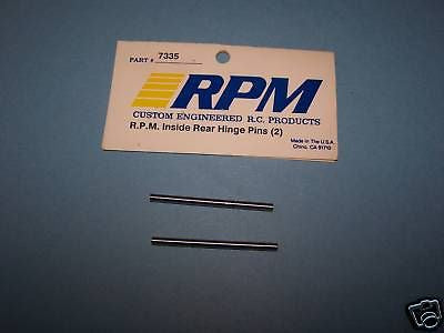 RPM (LOSI) INSIDE REAR HINGE PINS (2 PCS) #7335
