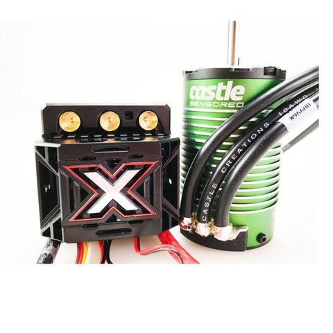 1/8 Mamba Monster X 25.2V ESC, 8A BEC with 1515-2200KV Sensored Motor (CSE010014503)