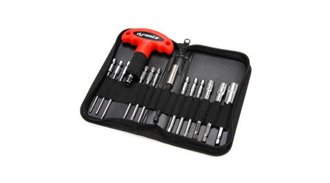 "Deluxe 1/4"" Large Scale Tool Set with Handle: 100/110mm (DYNT1074)"