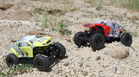 1/24 Temper Crawler RTR, Red/White (ECX00012T1)